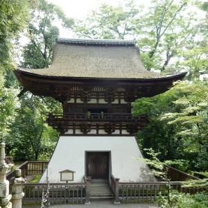 石山寺の鐘楼は源頼朝の寄進らしい。