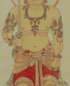 園城寺の金色不動明王画像(黄不動尊)
