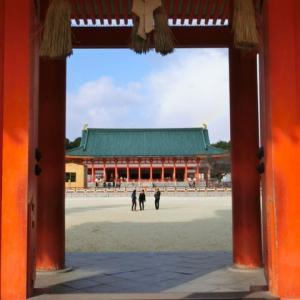 平安京大内裏の復元した平安神宮