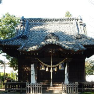 鹿島神社~「青天を衝け」:渋沢栄一生誕地深谷~
