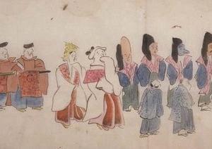 鎌倉の面掛行列
