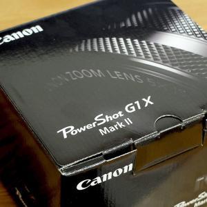 コンデジカメラ「Canon Power Shot G1 X Mark II」を購入した!