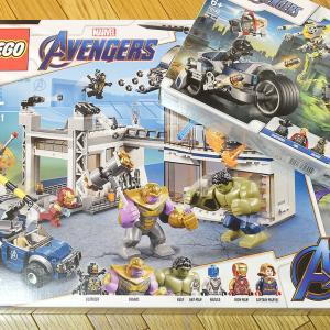 【LEGO】マーベル・スーパーヒーローズ「76131:アベンジャーズ・コンパウンドでの戦い」などいろいろ購入!