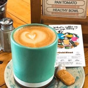 今日はキンタマーニコーヒーでスタート@バリ島