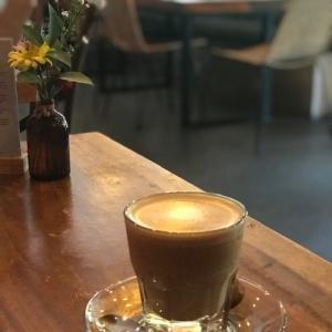 外で飲むコーヒーはうまい@バリ島