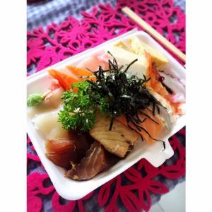 海鮮丼ランチ@バリ島