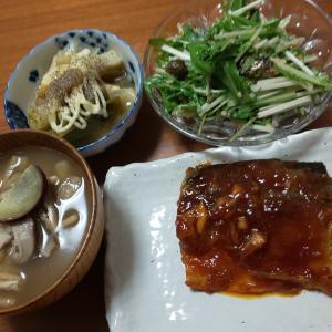 3日分の晩御飯