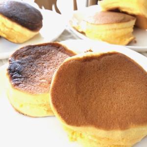 スフレパンケーキ作り