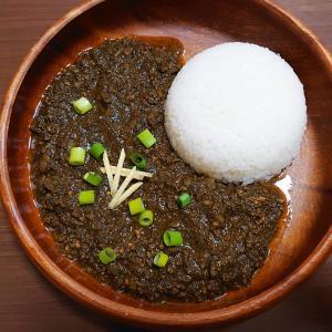 黒ごまキーマカレー (簡単レシピ)