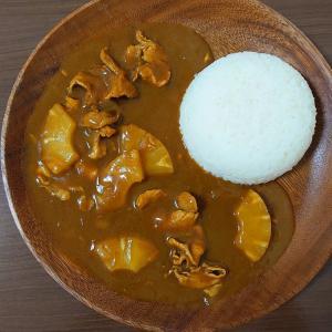 缶詰パイナップルポークカレー (簡単ルーレシピ)