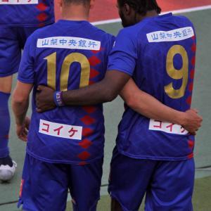 横浜FCに辛くも勝利!