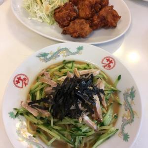 京都市北区 中華のサカイ 冷麺&唐揚げ