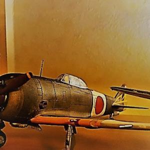 プラモ:二式戦闘機 鍾馗