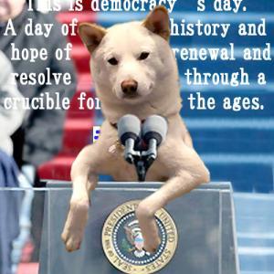 大統領就任演説