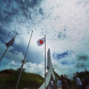 南太平洋戦没者慰霊公苑の清掃と慰霊に参加させていただいた。