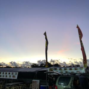 グアムの朝市に朝イチで行ってきた。