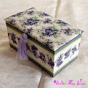 スミレの小箱たち