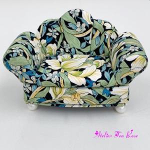 ぷっくりかわいいソファ
