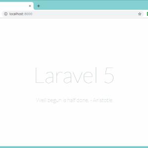 Laravel(ララベル)入門やってみた