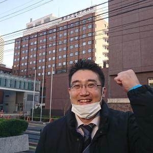 サポートで都内の病院にお邪魔しました