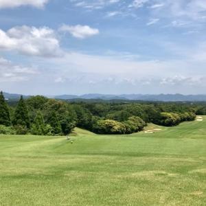 今日は梅雨の晴れ間のゴルフ日和でした!
