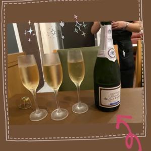 シャンパンはやっぱり美味しい!