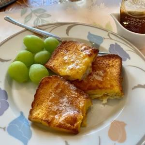 さらに簡単なフレンチトーストと松山英樹