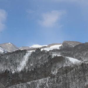 先日のスキー 快晴