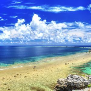宮古島の3つの謎と雲のある宮古島の空のHDR写真とは・・・