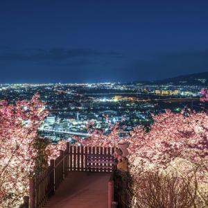 宮古島の「宮古ブルー」と松田町の「まつだ桜まつり」の夜景のHDR写真は・・・