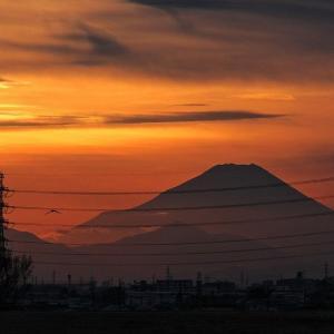 洛陽の空 黒富士