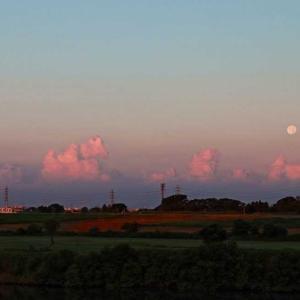 並雲の上 残月
