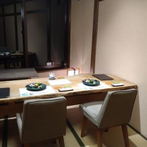 2021年9月 水上 うの瀬温泉 ゆの宿上越館 再訪(3回目)夕食と朝食編