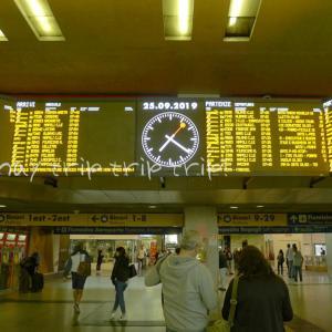 ナポリ旅行記2019(5)イタロでナポリへ!ナポリ中央駅の荷物預かり所へ立ち寄り