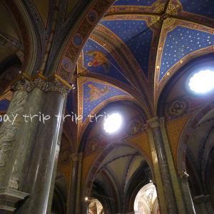 イタリア旅行記2018(44)鮮やかな青の天井♪サンタ・マリア・ソプラ・ミネルヴァ教会
