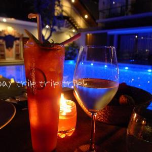 バリ島旅行記2019(9)ごはんの美味しさは◎♪ ブティックホテル「Royal Kamuela Villas & Suites」(夕食編)
