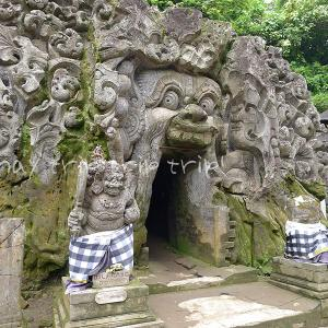 バリ島旅行記2019(21)空港までの寄り道その2♪大きな顔の遺跡「ゴアガジャ」へ