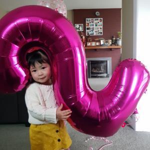 2歳の誕生日とおしゃぶり