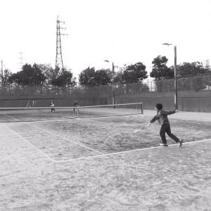 テニスデー  と    ははの日。