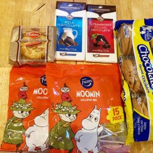 MOOMINなど輸入お菓子を大人買い!