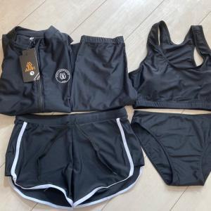 フィットネス水着が5点セットで3388円!安すぎ!!