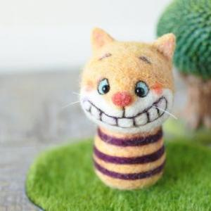 チェシャ猫顔入れ