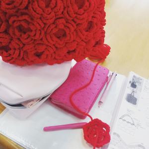 とっても可愛い立体モチーフのかぎ針編み♪