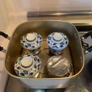 溶き卵料理始めますた①茶碗蒸し