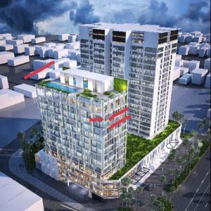 ベトナムハノイの高級レジデンス「Fraser Suites」の新棟(Tower B)のご紹介です