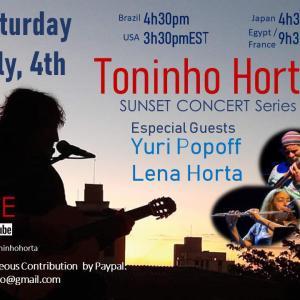 TONINHO HORTA SUNSET SESSIONS LIVE 2020/7/5