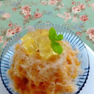 今夏初 紅茶のかき氷 紅茶専門店パンジェンシー