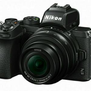 NikonZ50が発表されましたね!