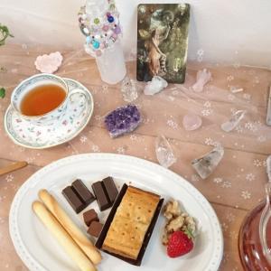 香り遊びと春分の日の妖精お茶会♡