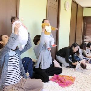 【麻生区】赤ちゃんは楽しいことがわかってる♪